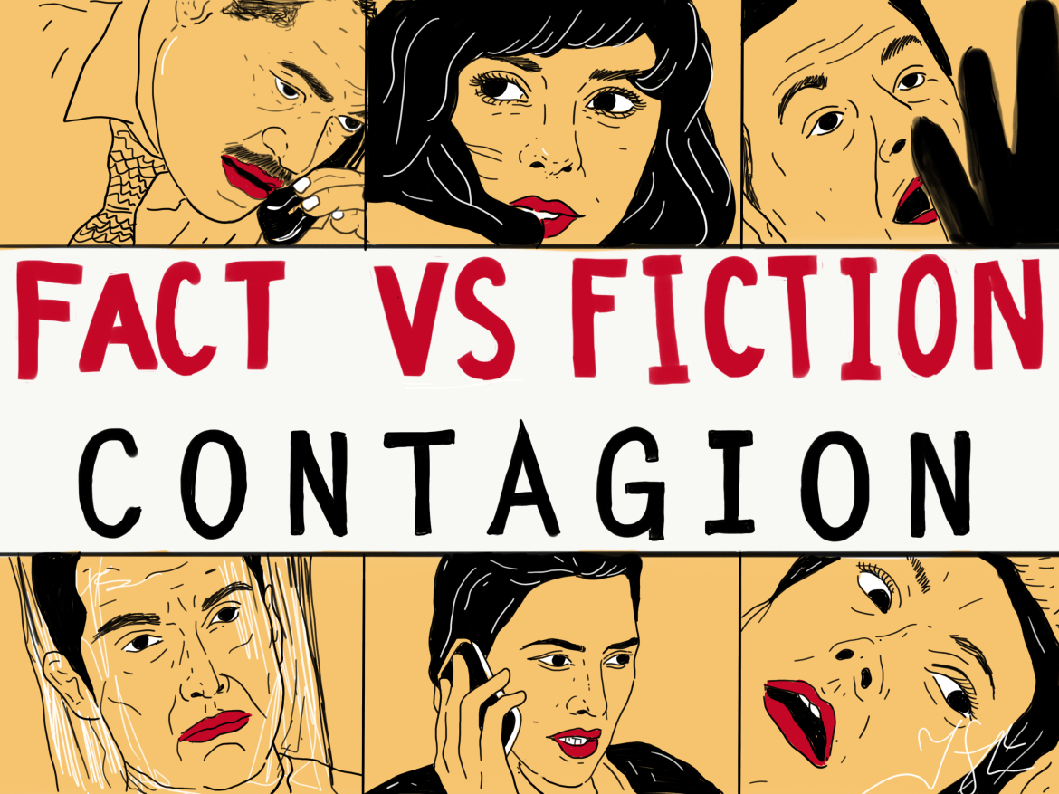The movie Contagion depicts a global pandemic, not unlike the current COVID-19 outbreak. Prof. Elizabeth Buckles breaks down what the movie got right and what was dramatized.