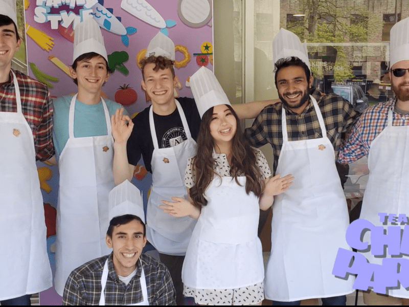 Team Chef Party from their Kickstarter video