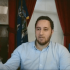 Mayor Svante Myrick '09's livestream on Facebook addresses new budgetary measures.