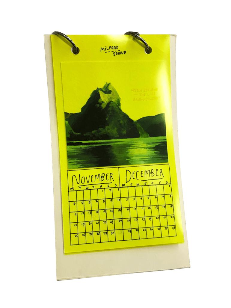 """My Yellow Calendar"""