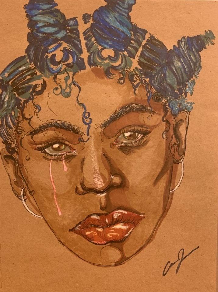 The Gaze of a Woman by Caroline Johnson