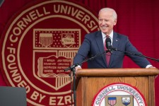 Former Vice President Joe Biden speaking at Convocation for the Class of 2017.