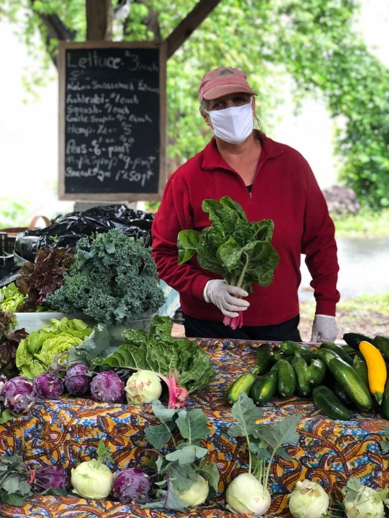 Fresh produce for sale (Sofia Siciliani, Staff Writer)