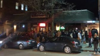 Students packed Collegetown bars and parties in March, right after in-person classes were canceled.