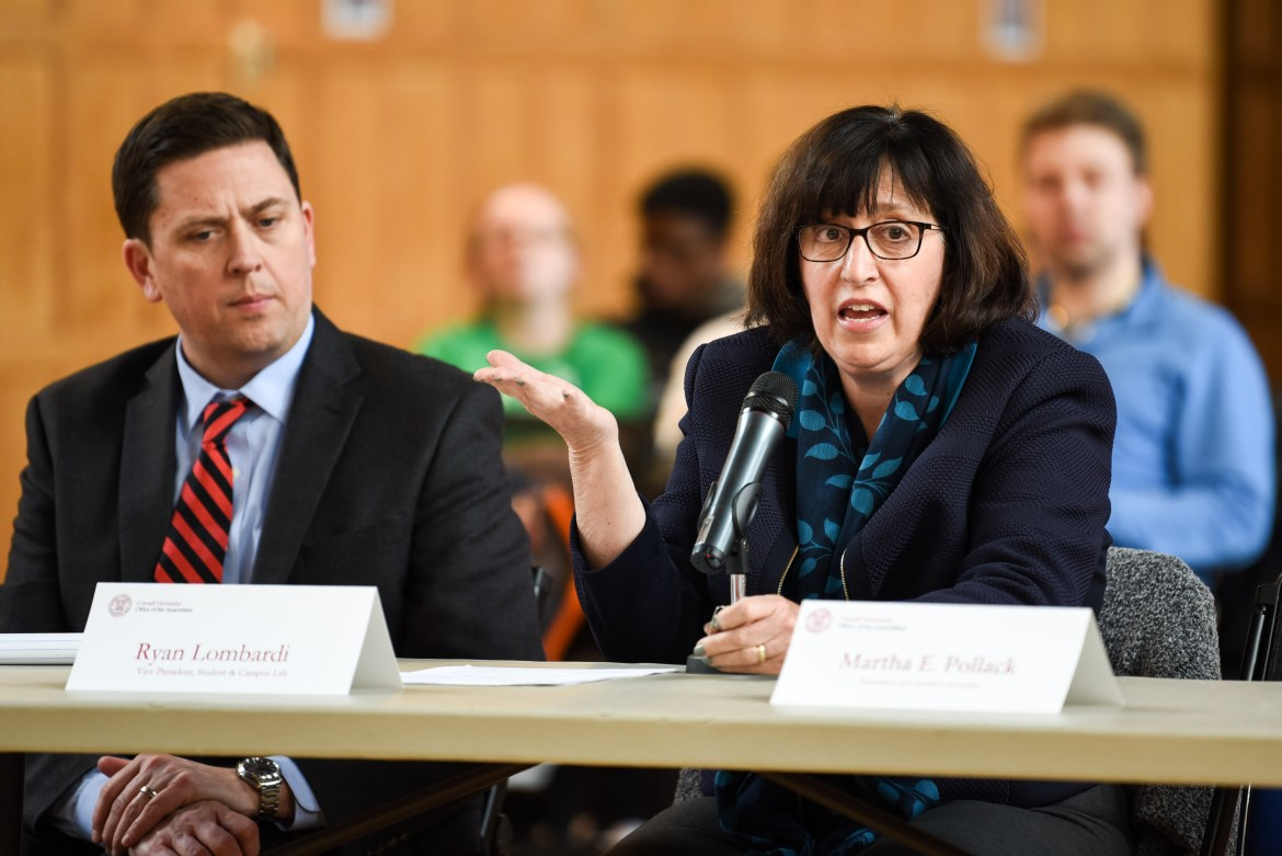On Wednesday, President Martha E. Pollack and Vice President Ryan Lombardi sent back-to-back emails about campus reactivation.