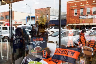 "In a previous controversy, Goldberg questioned the Auburn motto ""war eagle."""