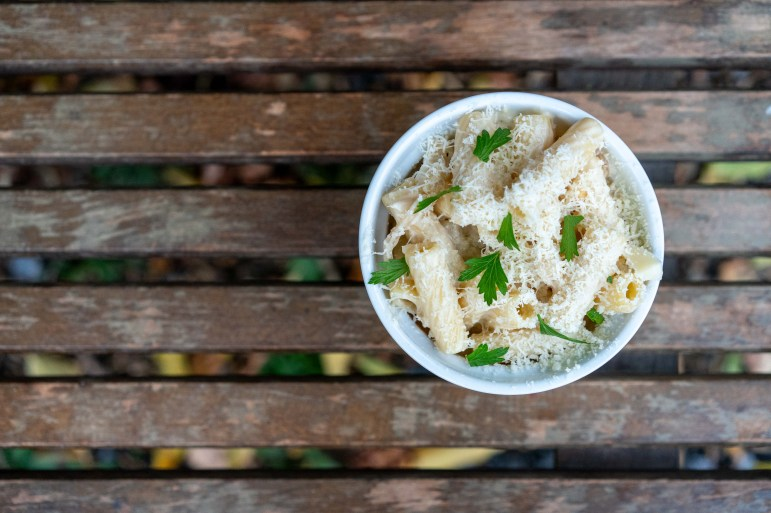 Mac 'n Cheese, 2 Stay 2 Go. (Ben Parker/Sun Assistant Photography Editor)