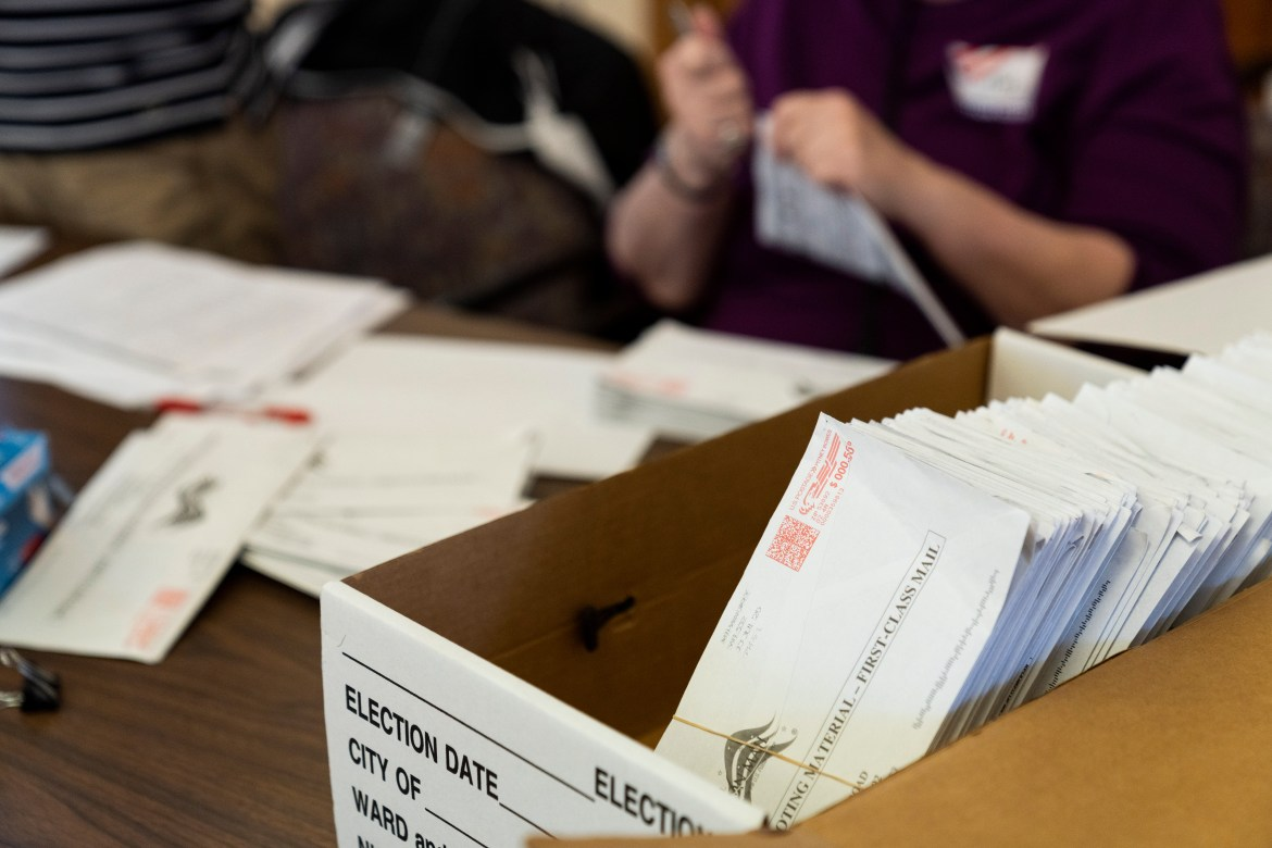 For the upcoming Election Day, absentee ballots will now be able to be requested online.