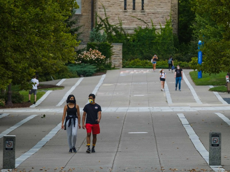 As Cornellians started classes for the fall, Tompkins County reported sharp increases active COVID-19 cases.