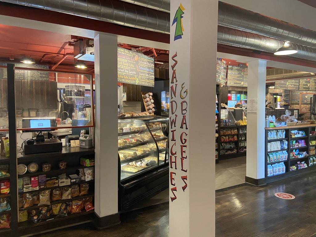 The interior of Collegetown Bagels' new location. (Melanie Metz / Sun Staff Writer)