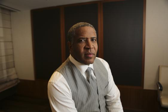 "Robert F. Smith '85 was listed under the ""titans"" category, of TIME's 100 ""Most Influential People."""