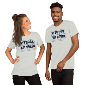 'Network' Corner 10 Creative Short-Sleeve Unisex White T-Shirt (Bella + Canvas 3001)