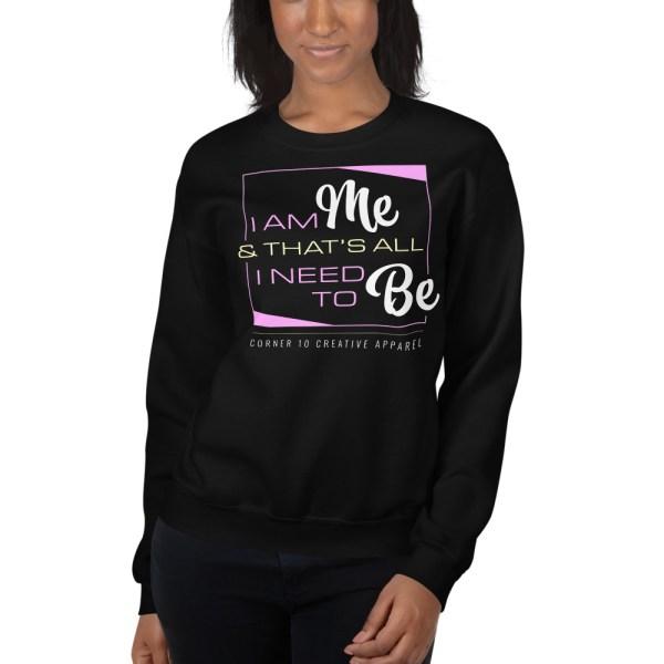 unisex crew neck sweatshirt black 5fe9a9d87e8a1