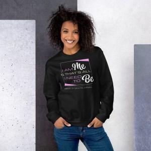 'IAm:Me' Corner 10 Creative Unisex Sweatshirt
