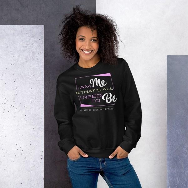 unisex crew neck sweatshirt black 5fe9a9d87e9fe