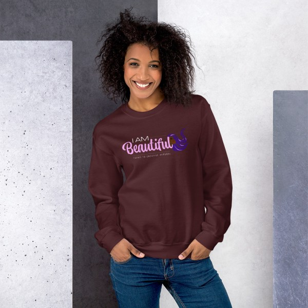 unisex crew neck sweatshirt maroon 5fe9ab48d031d