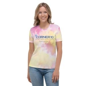 Corner 10 Creative Women's Tie Dye T-shirt