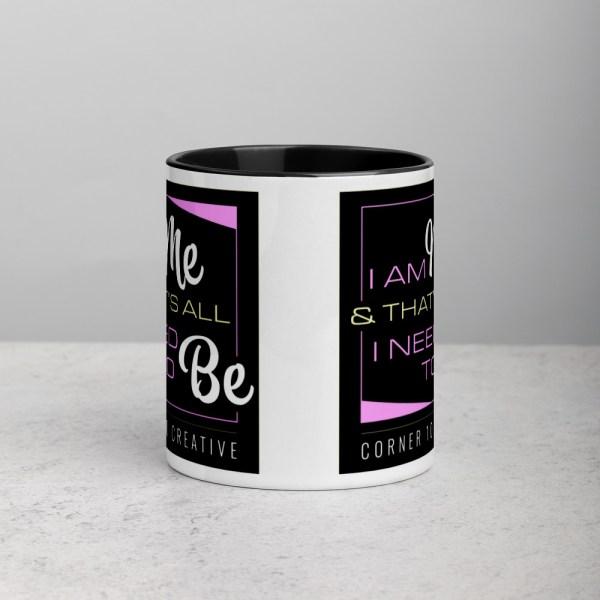 white ceramic mug with color inside black 11oz 6001079a029b5