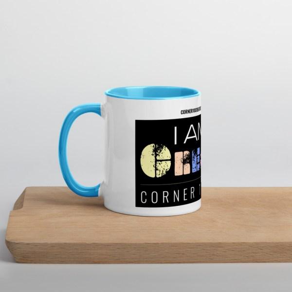 white ceramic mug with color inside blue 11oz 60010af231c15