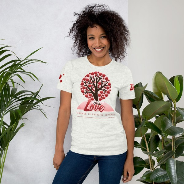 unisex premium t shirt ash front 6045415824eed