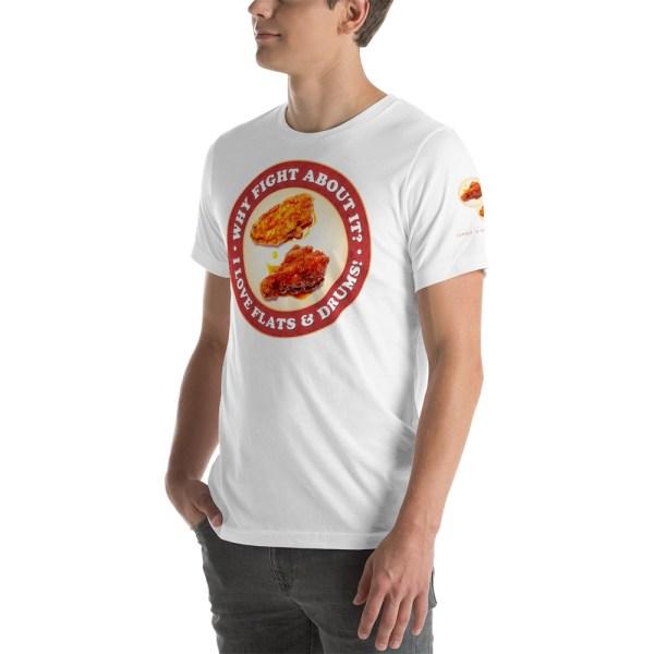 unisex premium t shirt white left front 6042c4c0a57d6