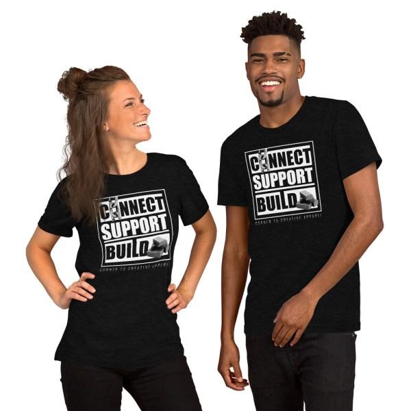 unisex staple t shirt black heather front 612ebb0ddb750