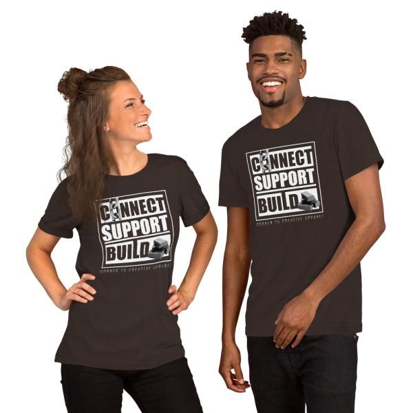 unisex staple t shirt brown front 612ebb0ddd128