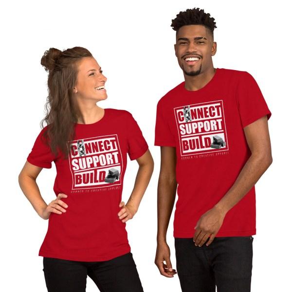 unisex staple t shirt red front 612ebb0dddc62