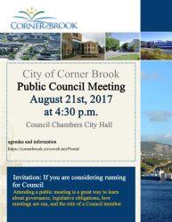meeting council invitation agenda corner
