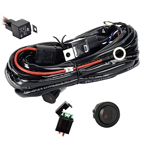 Details About Toyota Heavy Duty Led Light Bar Wiring Loom Harness 40a