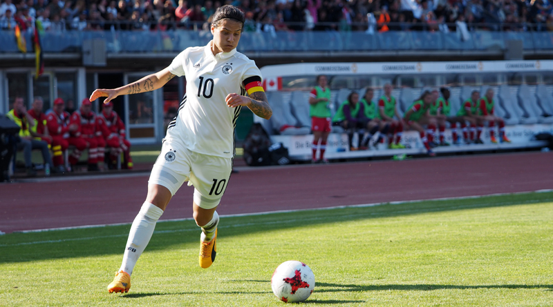 Dzsenifer Marozsan ist Fußballerin des Jahres