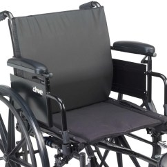 Wheelchair Cushion Folding Chair Outdoor Drive Lumbar Support Molded Foam