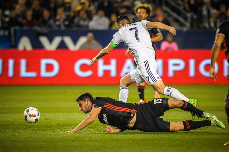 Robbie Keane during LA Galaxy vs DC United - Photo Credit Steve Carrillo