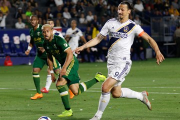 Zlatan Ibrahimovic plays for the LA Galaxy - Photo by Brittany Campbell