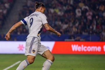 Zlatan Ibrahimovic plays for the LA Galaxy on July 4, 2019 -- Photo by Steve Carrillo