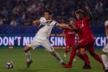 Zlatan Ibrahimovic faces off against Toronto FC on July 4, 2019