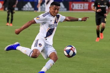 Julian Araujo plays for the LA Galaxy on July 19, 2019 - Photo Courtesy of LA Galaxy