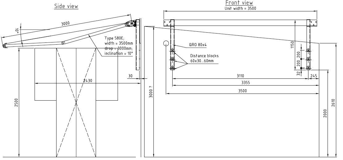 patio awning design and installation