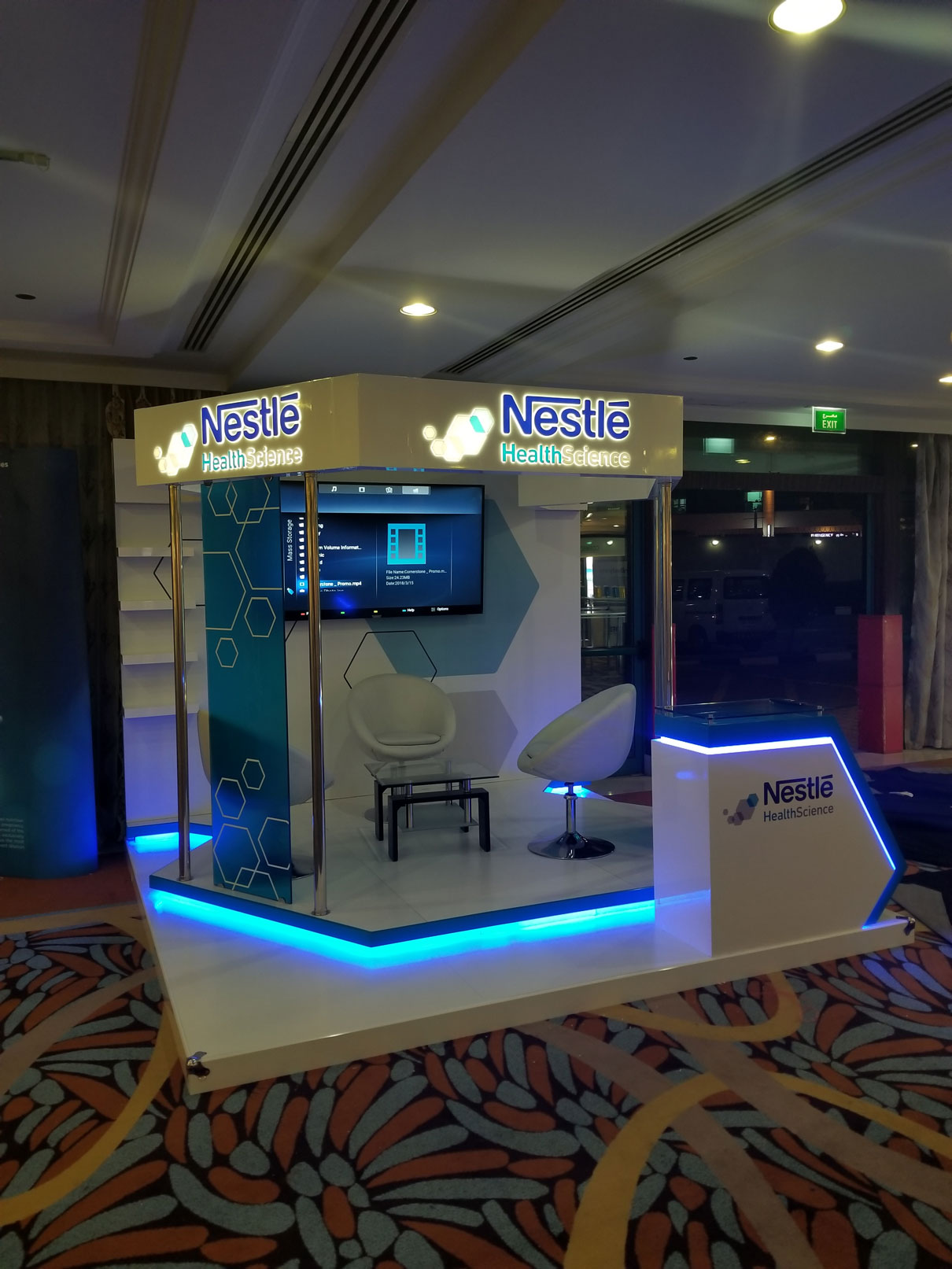 Nestle Exhibition Stand by Cornerstone