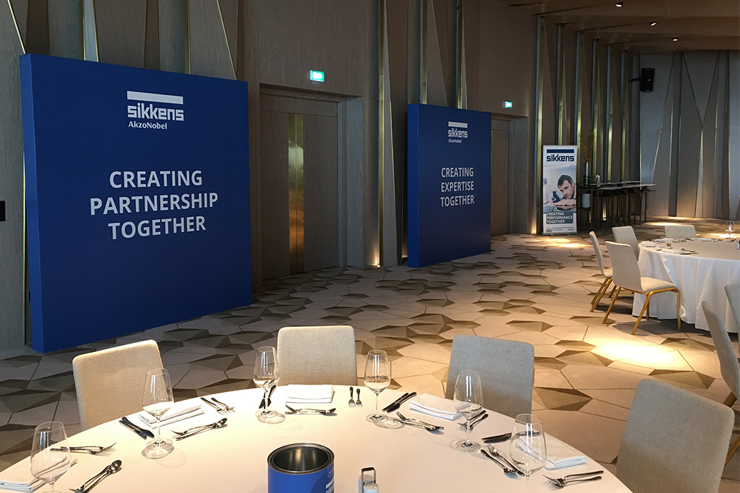 Sikkens AkzoNobel Event Branding by Cornerstone