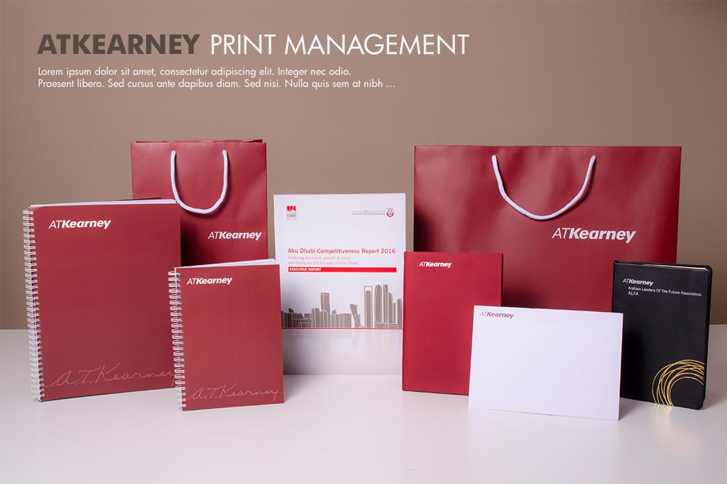 ATKearney Print Solutions by Cornerstone
