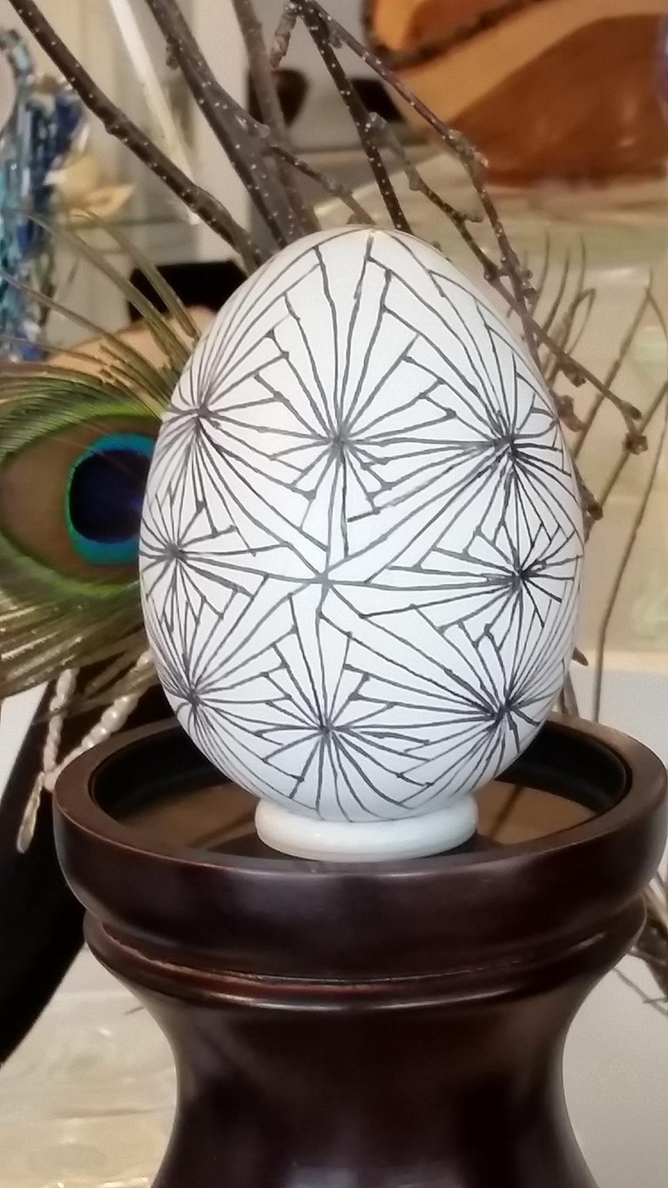 Cornerstone Gallery Painted Egg