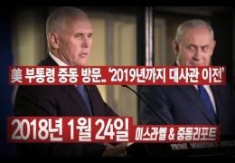 추 천  –  미 대사관,  예루살렘이전은 2019년까지 ( BradTV )