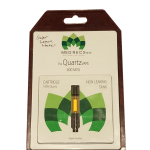 Cornerstone Botanicals 600mg CBD vape cartridge