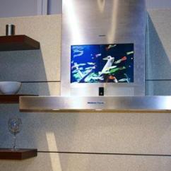 Smart Tv Kitchen Paint Colors Cornerstonebuildersofsouthwestflorida This Siemens Range Hood Includes A Television Screen