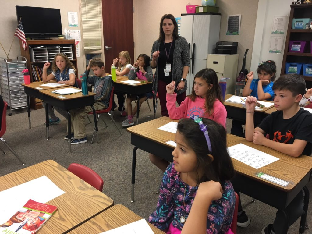 Miss Dick S Class Learns Sign Language And Braille For