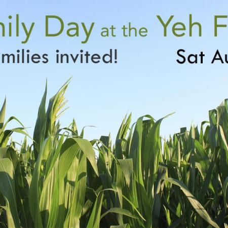 Family Day at the Yeh Farm