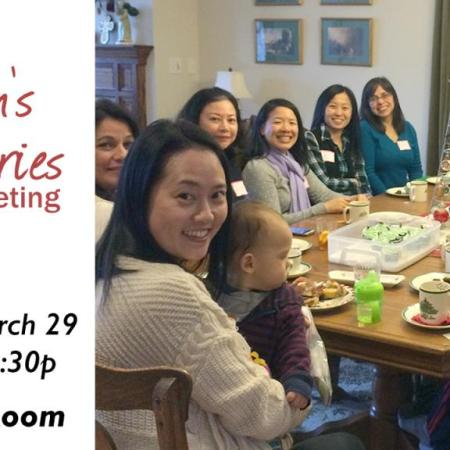 Women's Ministry Information Meeting March 29
