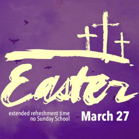 Easter Sunday, March 27