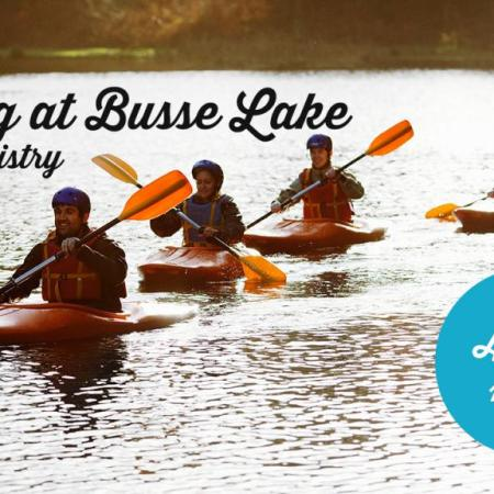 Men's Ministry Second Saturday Boating on Busse Lake, 8/12